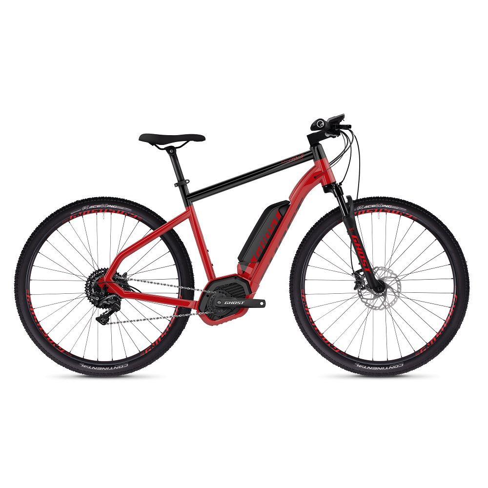 Ghost Hybride Square Cross B49 29  model 2019 Riot Red  Jet Black  XL 245