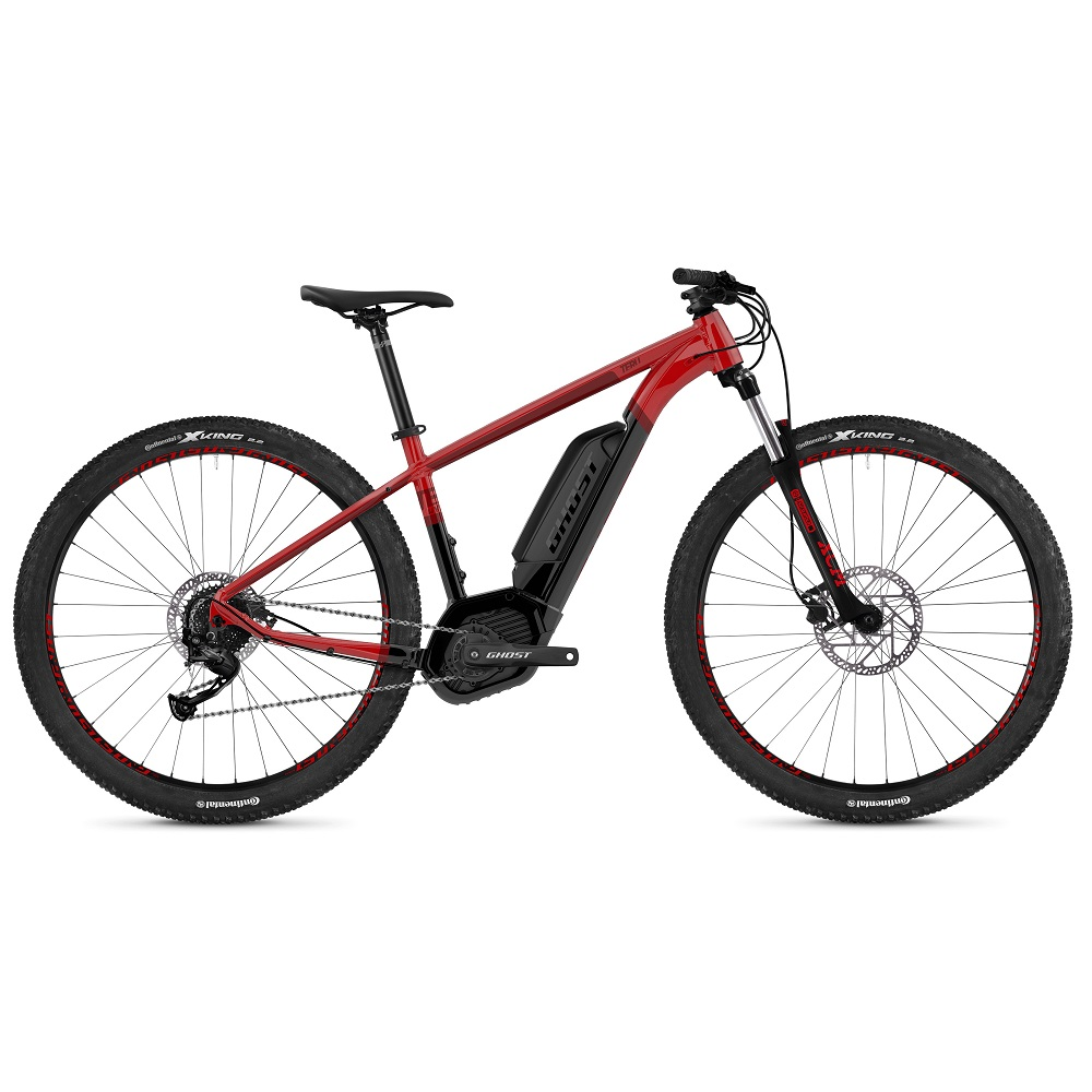 Ghost Teru B29 29  model 2019 Riot Red  Jet Black  Shadow Red  S 15