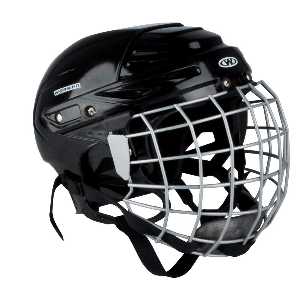 Hokejová přilba WORKER Kayro černá - XS (48-52) d67a0b1bc3b