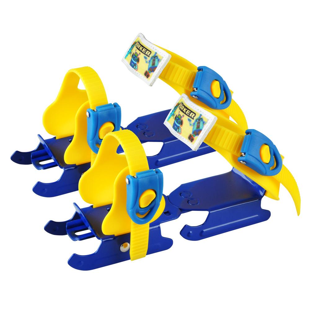 Dětské brusle kačenky WORKER Duckss Blue