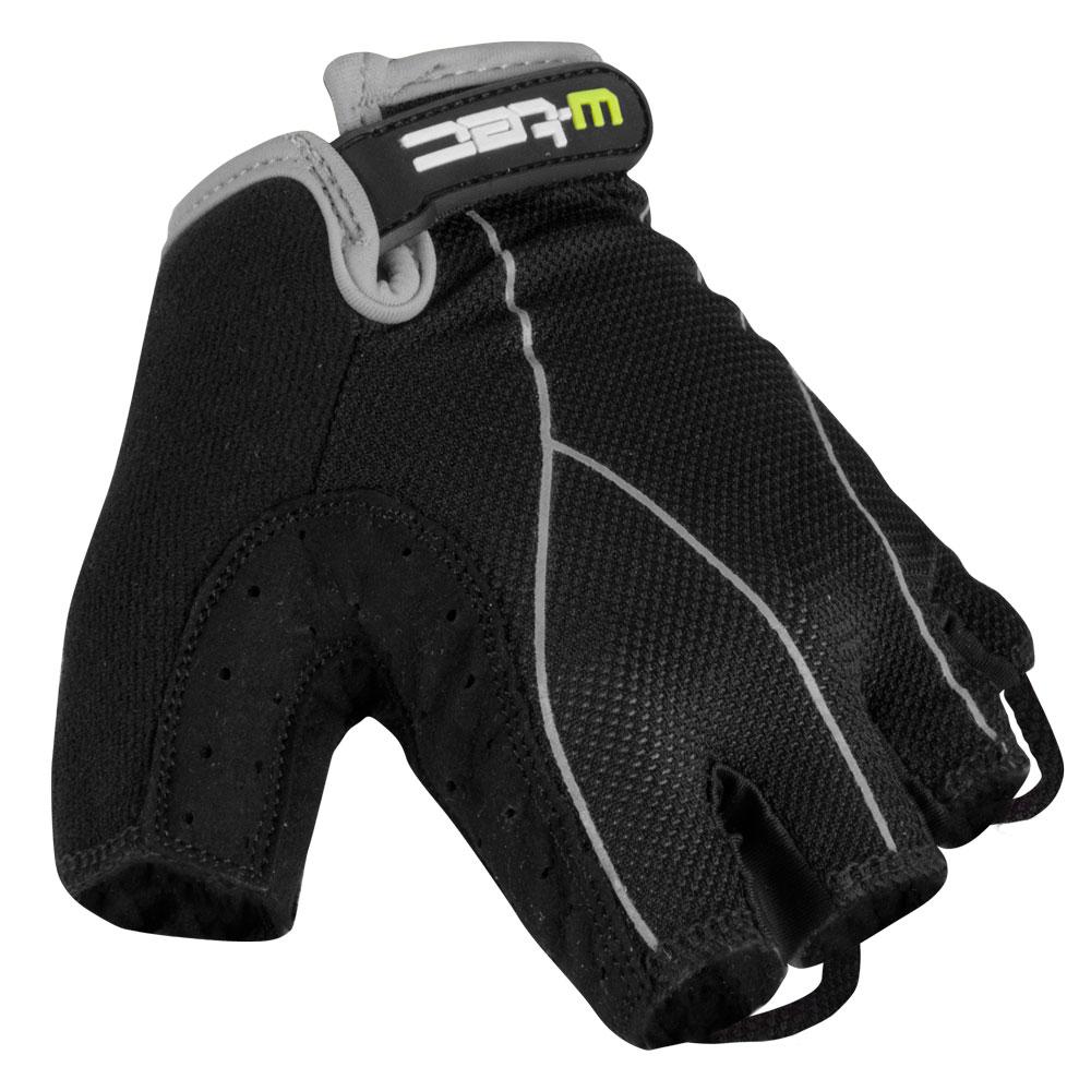 Pánské cyklo rukavice W-TEC Humyr černo-šedá - L