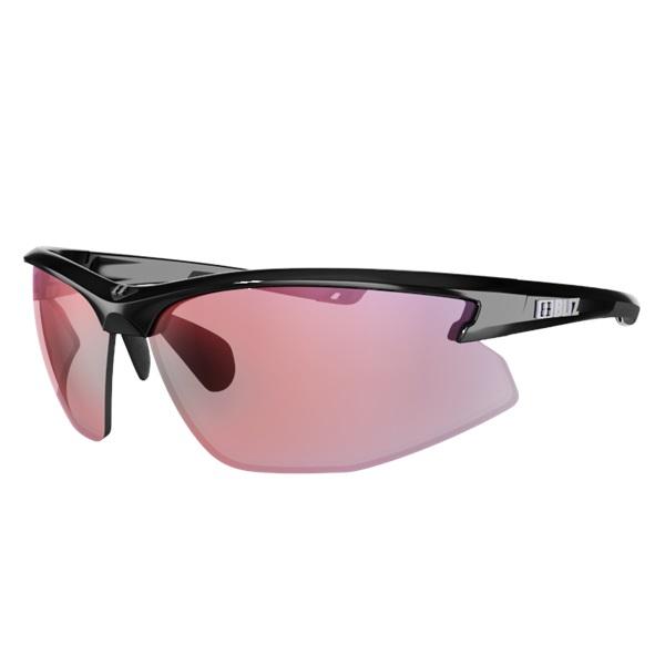 Sportovní sluneční brýle Bliz Motion Multi černá s duhovými skly