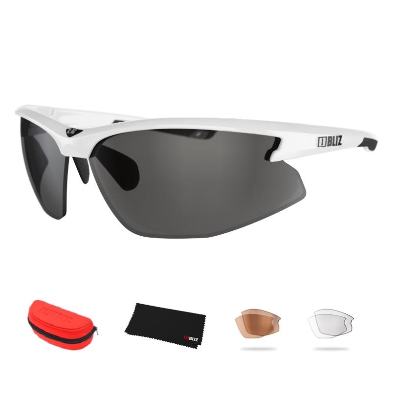 Sportovní sluneční brýle Bliz Motion+ bílá