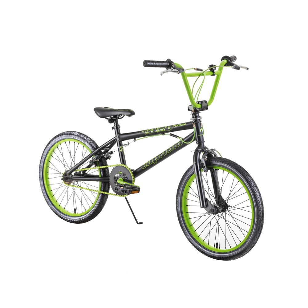 "BMX kolo Capriolo Totem 20"" - model 2018 Black Green"