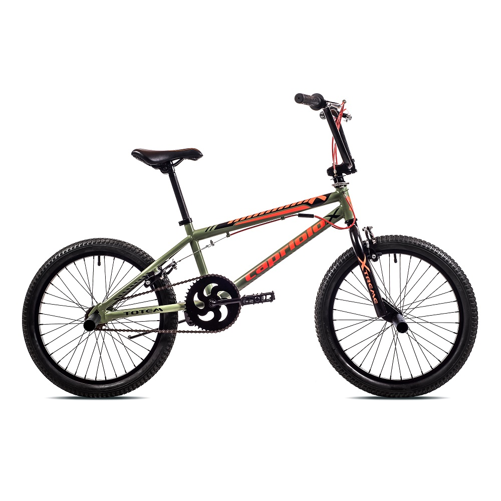 "BMX kolo Capriolo Totem 20"" - model 2019 Green Red"