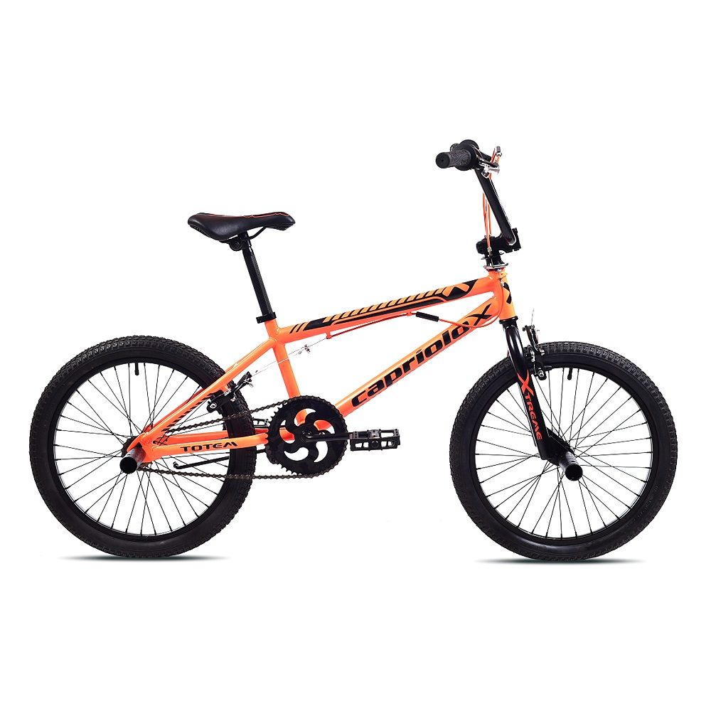 "BMX kolo Capriolo Totem 20"" - model 2019 Orange Black"