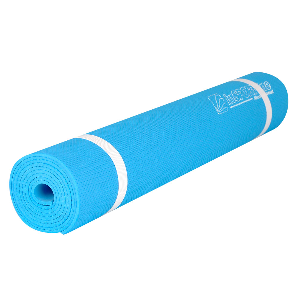 Gymnastická podložka inSPORTline EVA 173 x 60 cm světle modrá