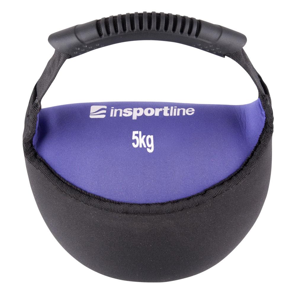 Neoprenová činka inSPORTline Bell-bag 5 kg