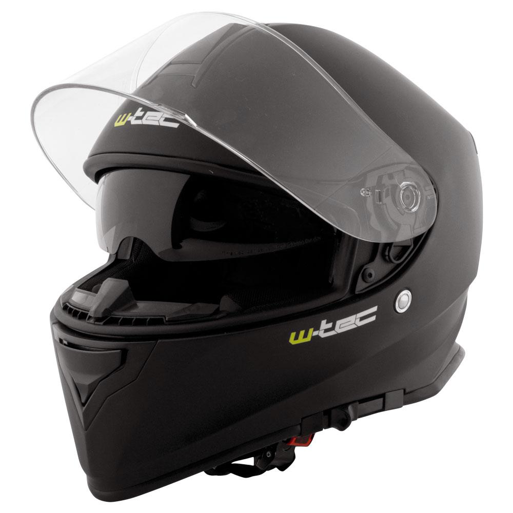 Moto helma W-TEC V127 matně černá - S (55-56)