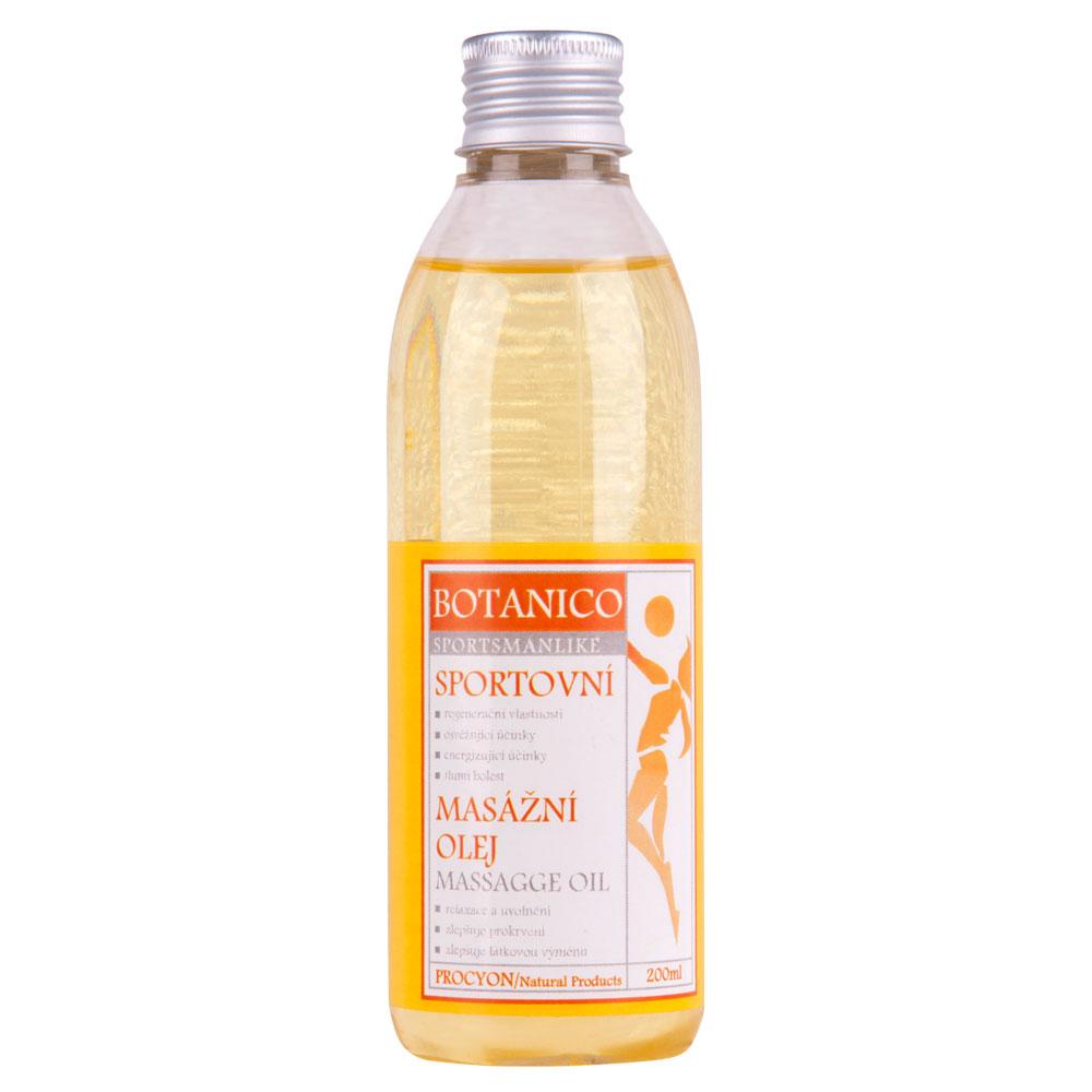 Sportovní masážní olej Botanico 200ml