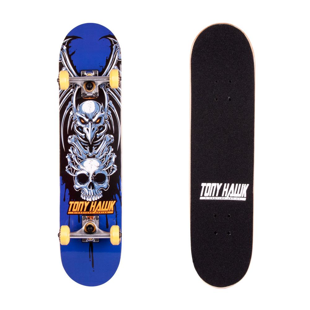 Skateboard Tony Hawk Popsi modrá