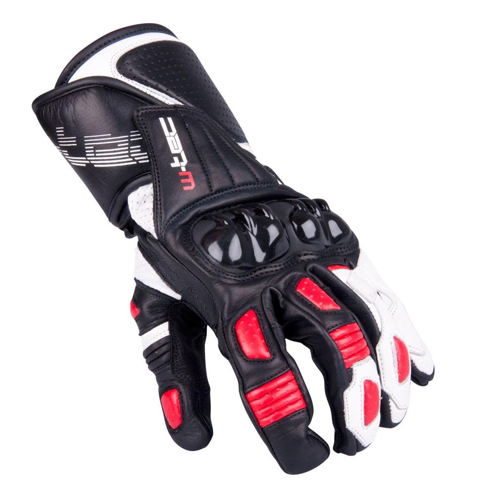 Pánské moto rukavice W-TEC Decane červená - S
