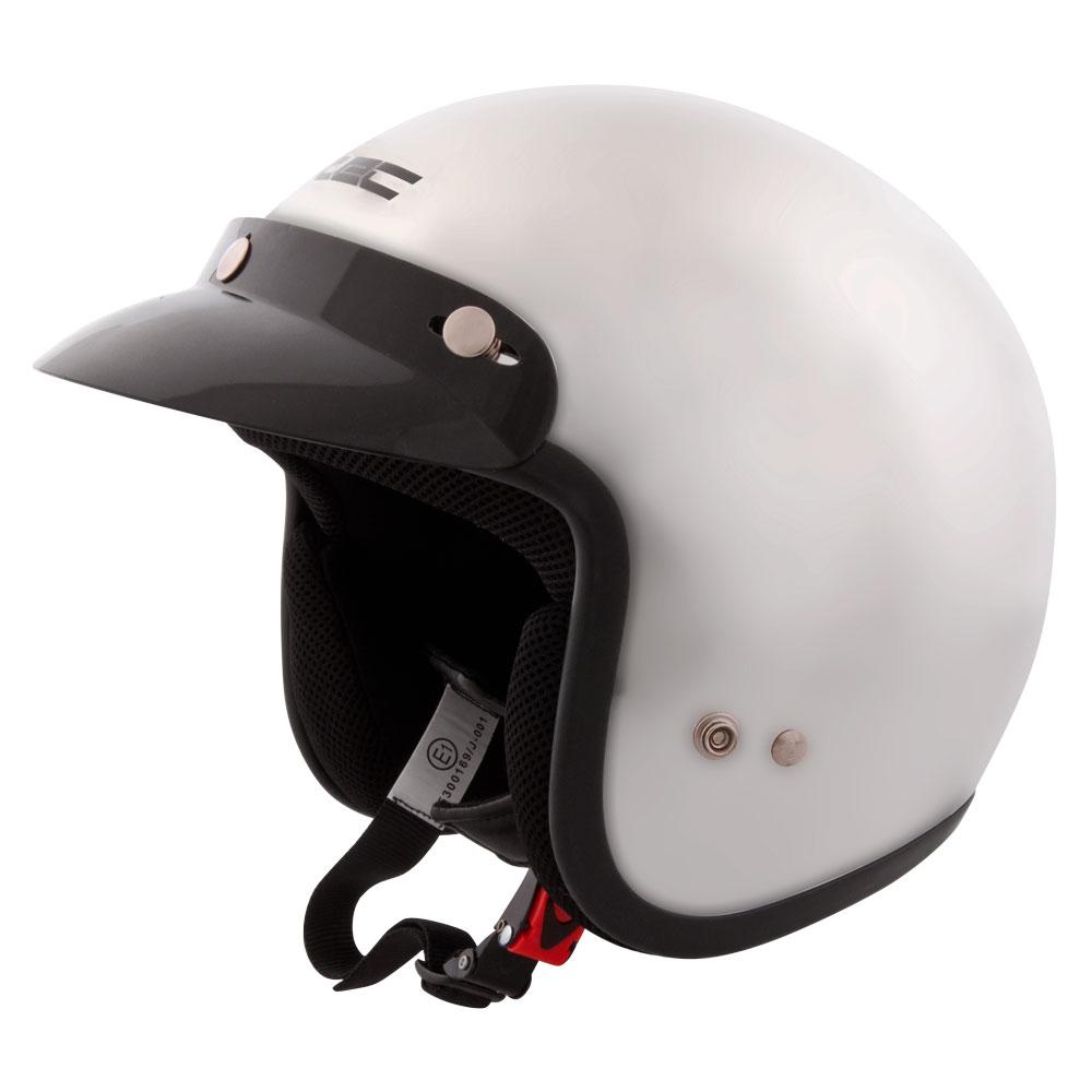 Moto přilba W-TEC AP-75 Pearl Black - L (59-60)