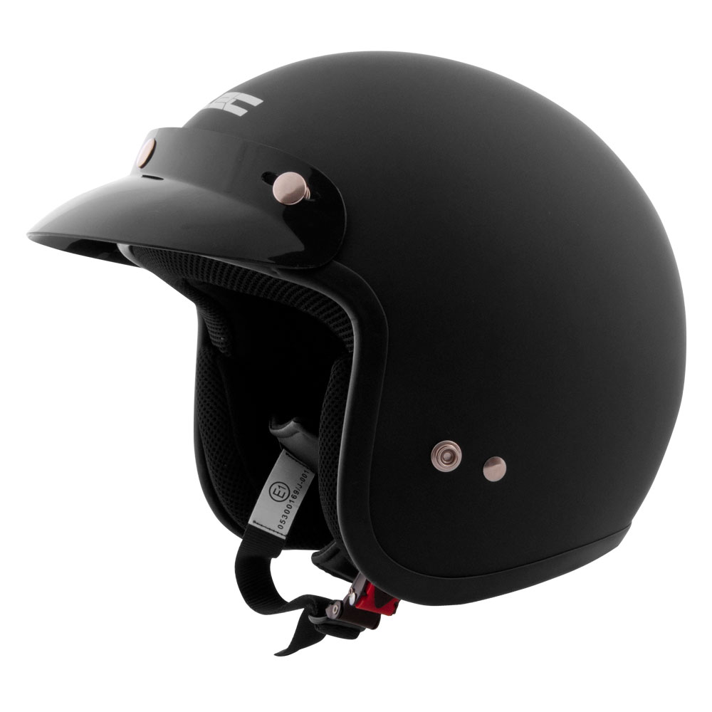 Moto přilba W-TEC AP-75 matně černá - XXL (63-64)
