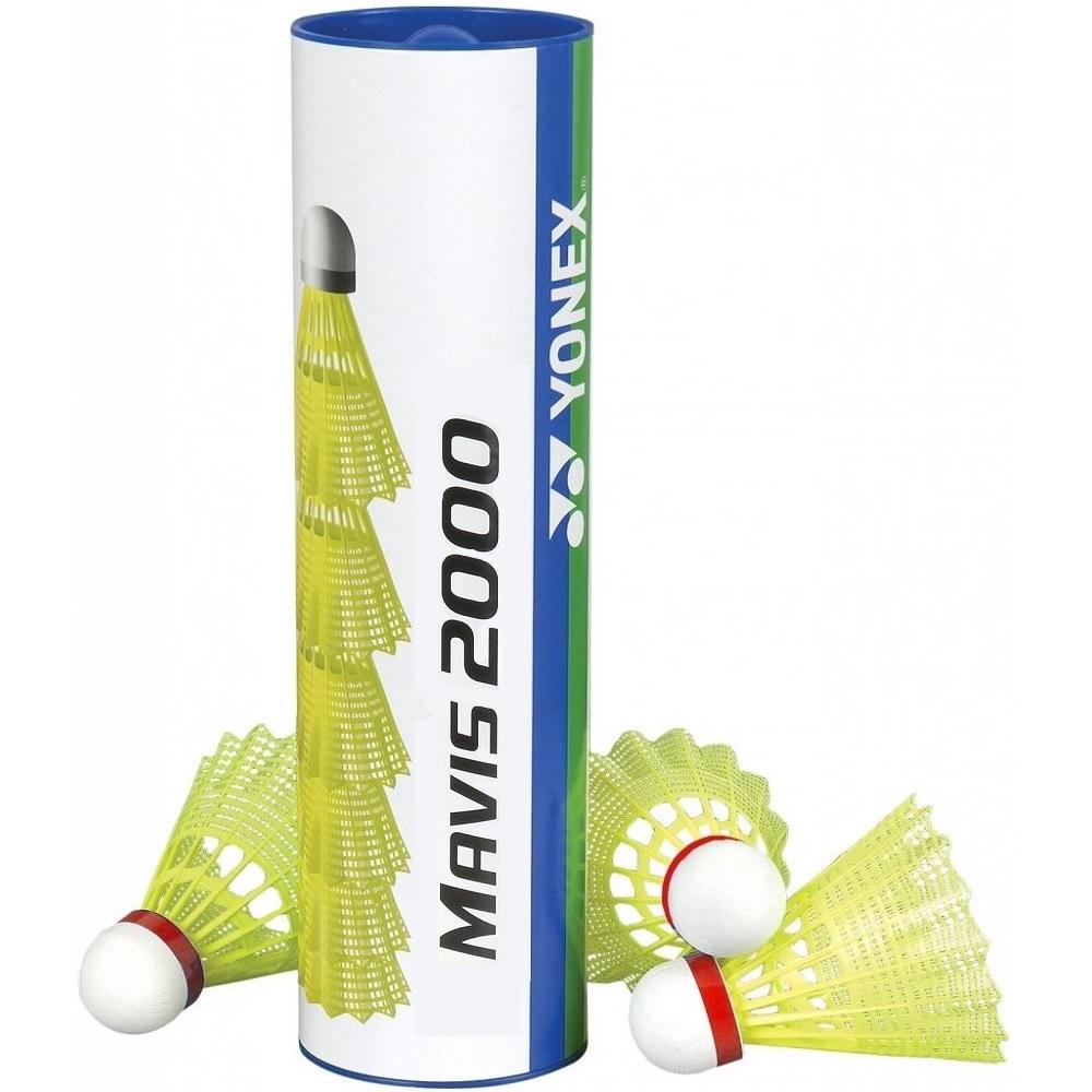 Badmintonové míče Yonex Mavis 2000 - červený pruh