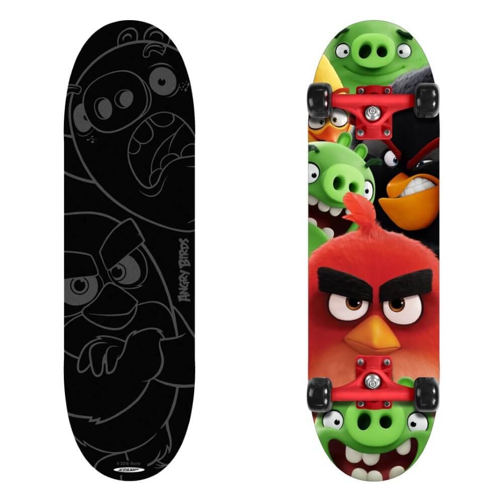 Skateboard Angry Birds
