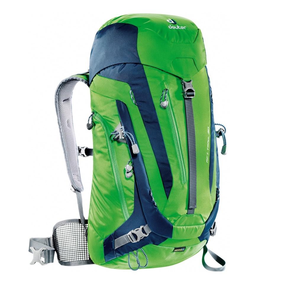 Turistický batoh DEUTER ACT Trail 30 2016 zeleno-modrá
