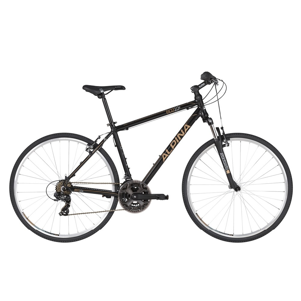 Crossové kolo ALPINA ECO C10 - model 2020 Black - M (19'') - Záruka 10 let