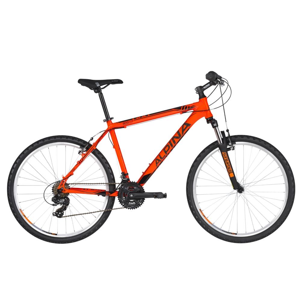 "Horské kolo ALPINA ECO M10 26"" - model 2020 Neon Orange - XXS (13,5"") - Záruka 10 let"