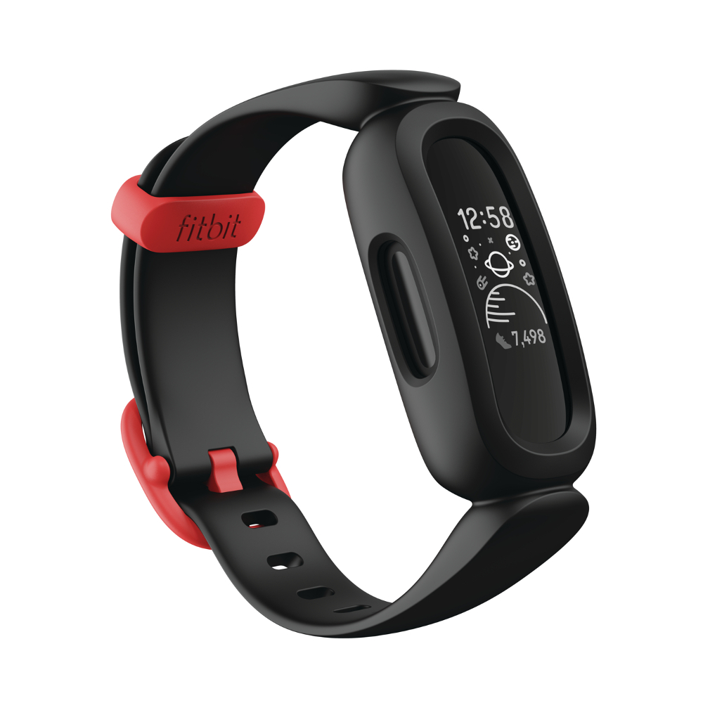 Dětský Fitness Náramek Fitbit Ace 3 Black/Racer Red