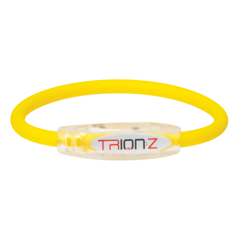 Náramek TRION:Z Active žlutá - M