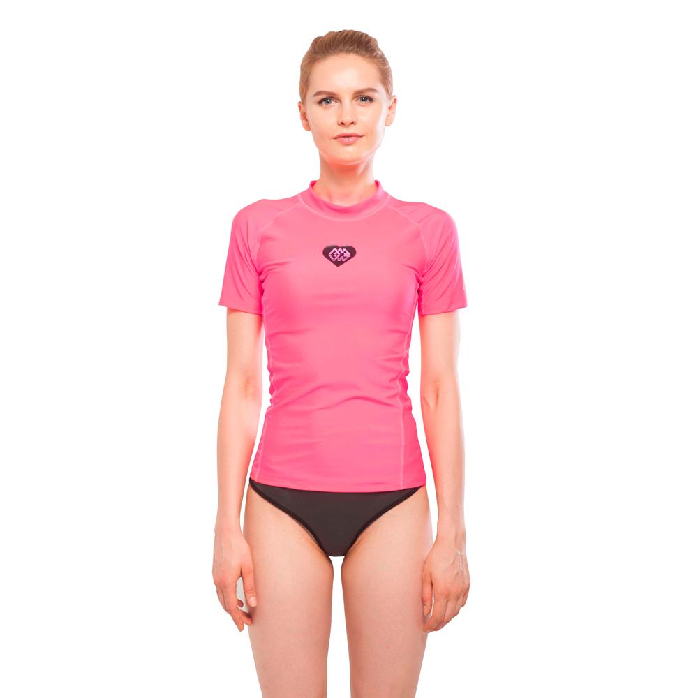 Dámské tričko pro vodní sporty Aqua Marina Alluv růžová - L