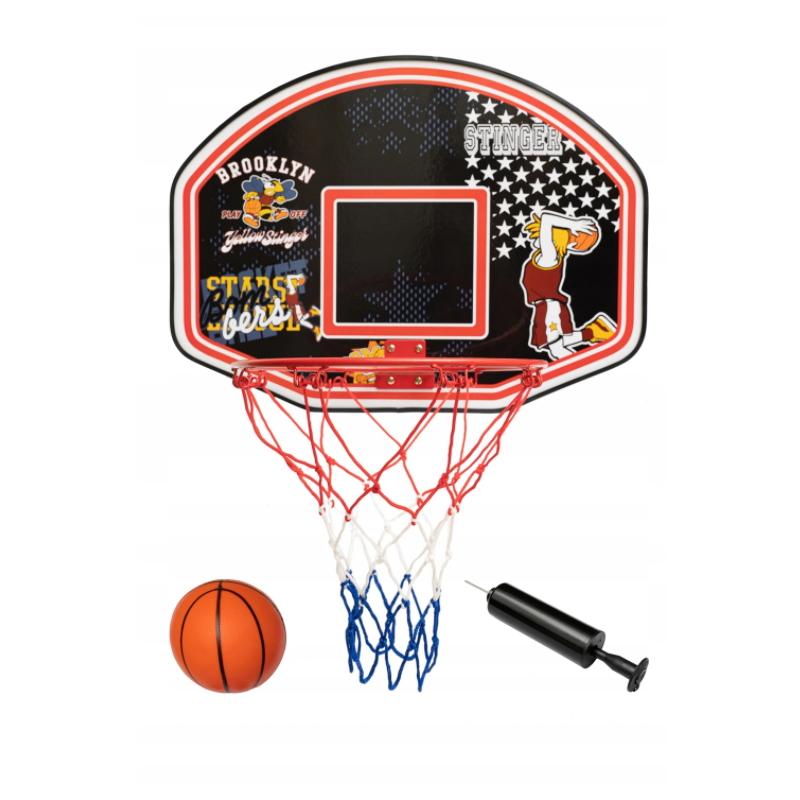 Basketbalový koš Spartan Basket Board s míčem