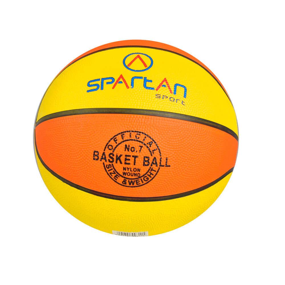 Basketbalový míč SPARTAN Florida vel. 5 oranžovo-žlutý