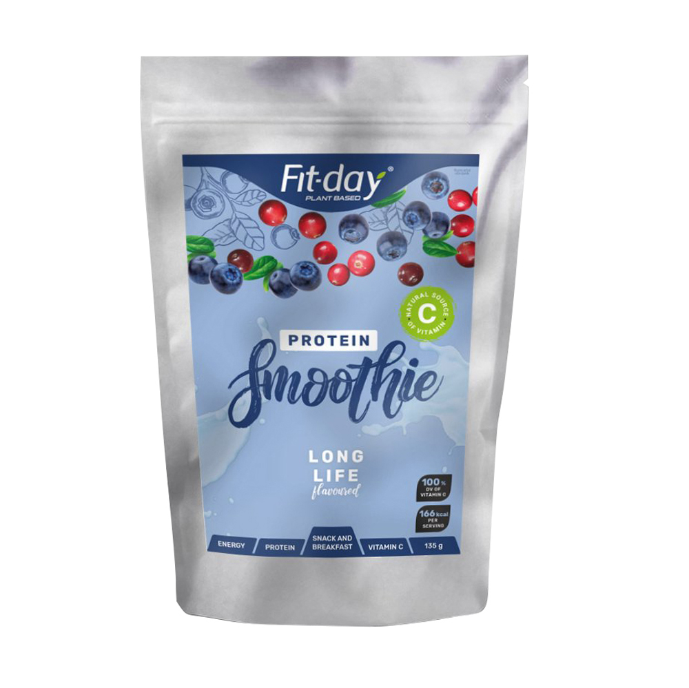 Proteinový nápoj Fit-day Protein Smoothie Long Life 135 g