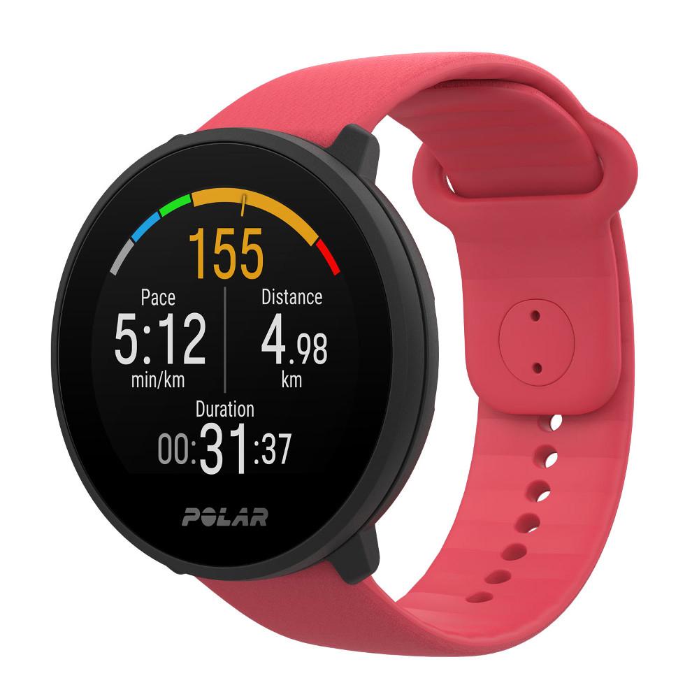 Sportovní hodinky Polar Unite růžová S-L