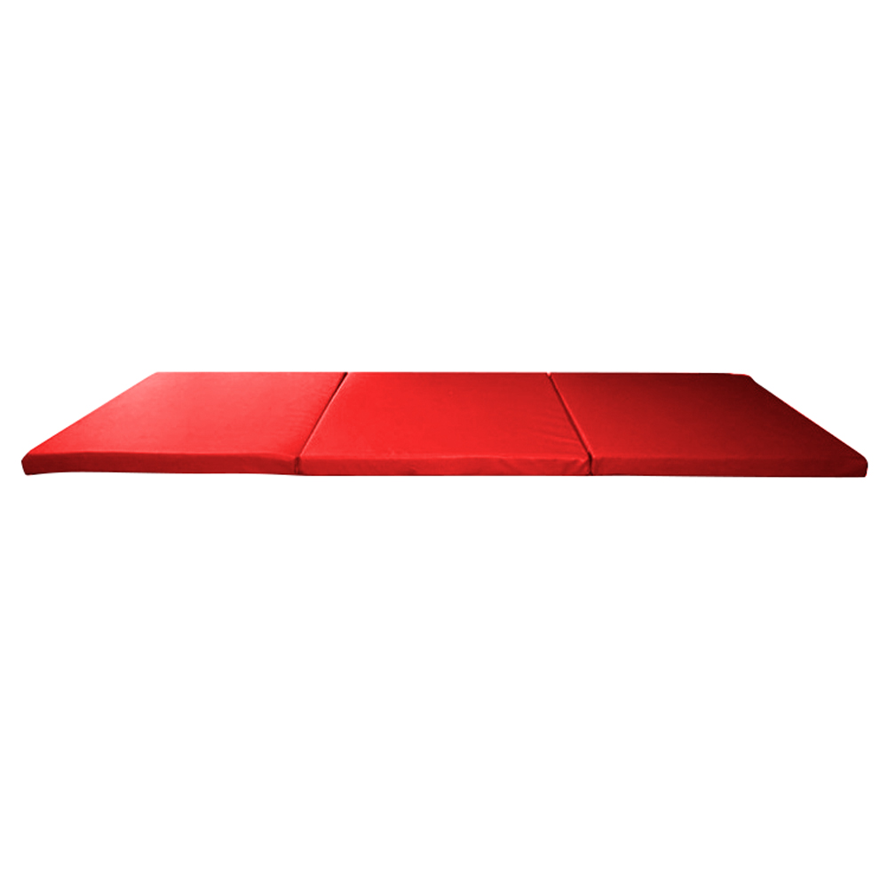 Skládací gymnastická žíněnka inSPORTline Pliago 195x90x5 červená