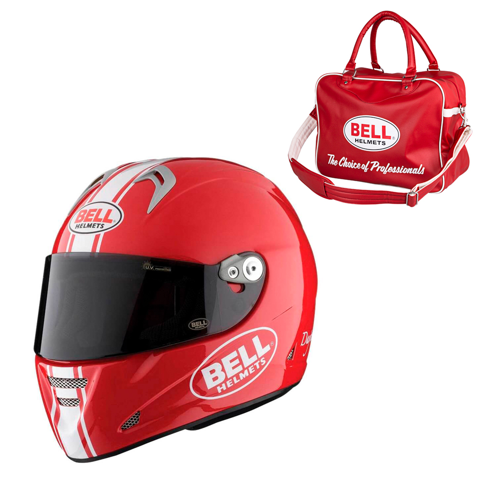 Bell M5X Daytona Red White M 5758