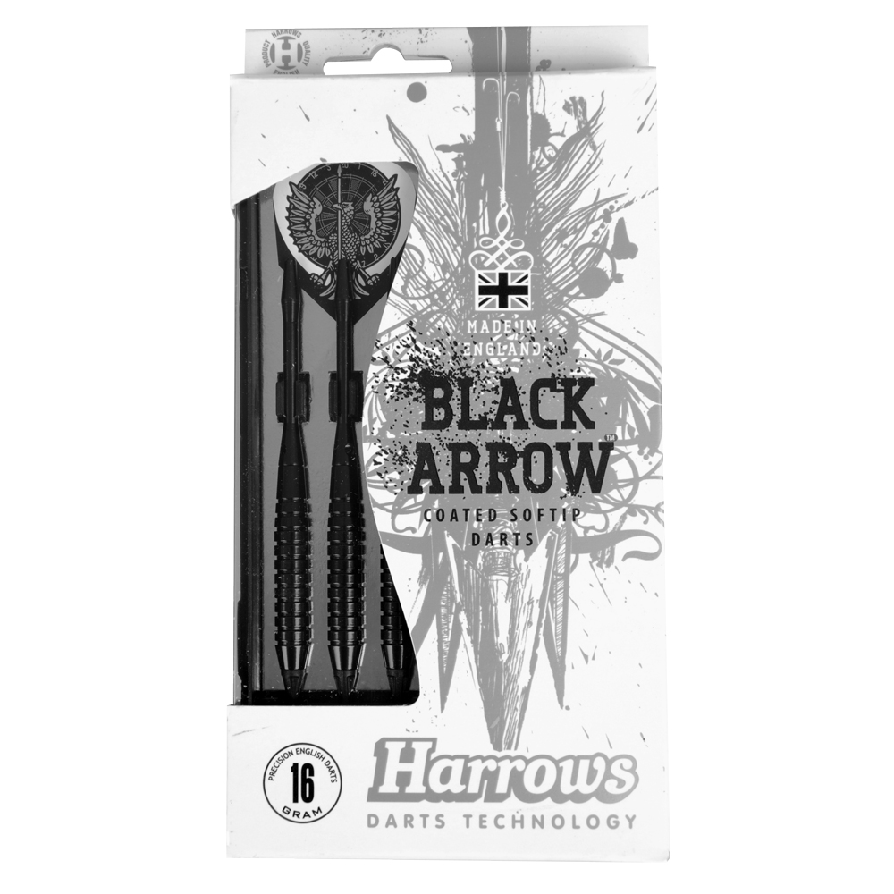 Šipky Harrows Black Arrow 16 g