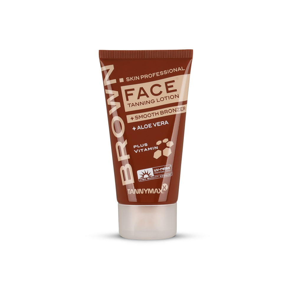 Tanny Maxx Brown Face Tanning Lotion  Smooth Bronzer 50ml
