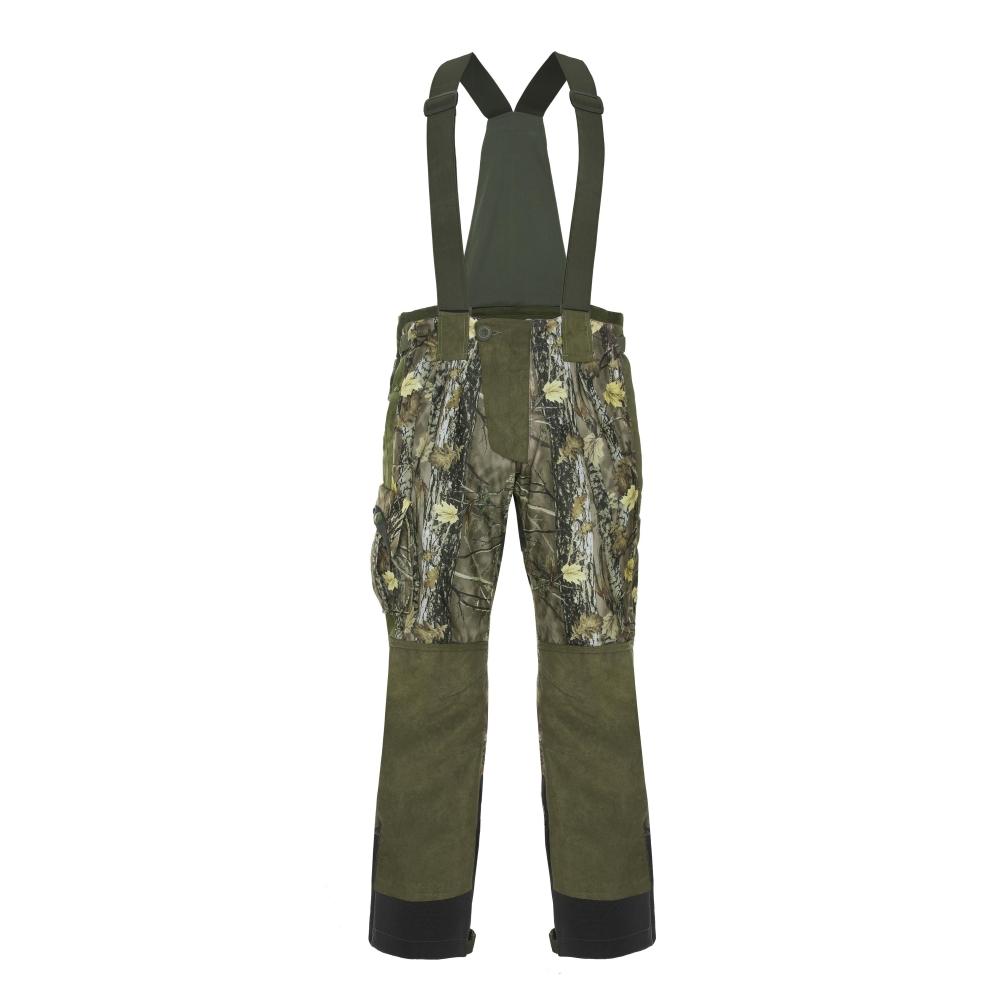 Lovecké kalhoty Graff 759-B-L-2 zeleno-hnědá - L 176-182 cm