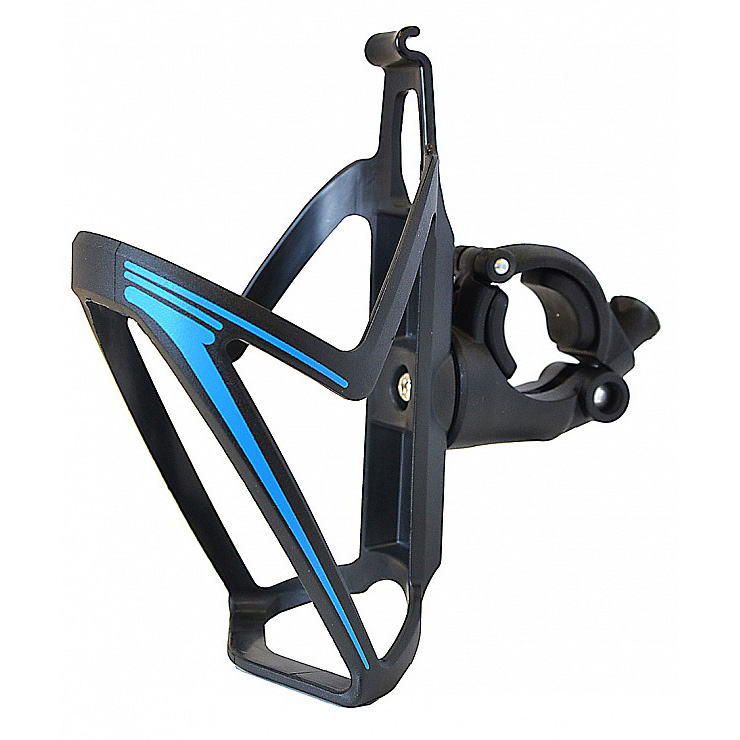 Košík s úchytem Cyklošvec Nexelo černo-modrá
