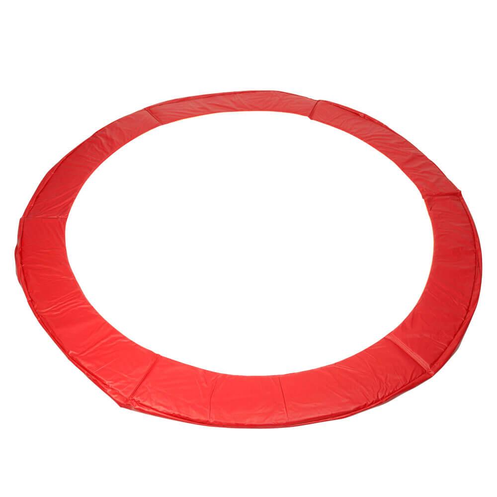 Kryt pružin na trampolínu 366 cm - zelená červená