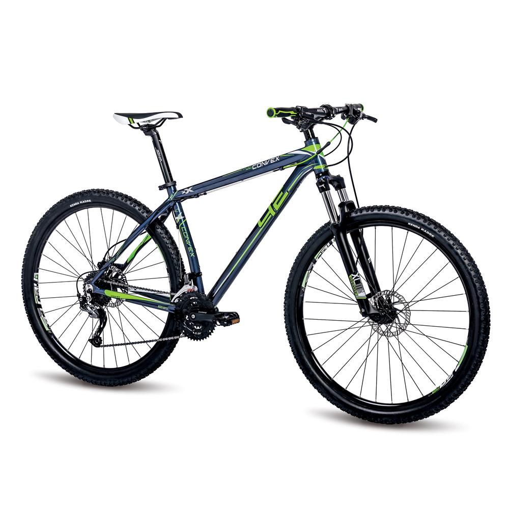 "Horské kolo 4EVER Convex Disc 29"" - model 2016 modro-zelená - 19"""