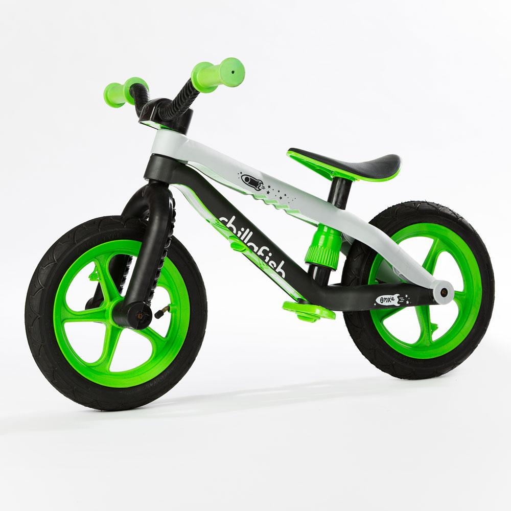 Dětské odrážedlo Chillafish BMXie zelená