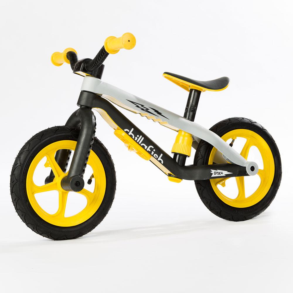Dětské odrážedlo Chillafish BMXie žlutá