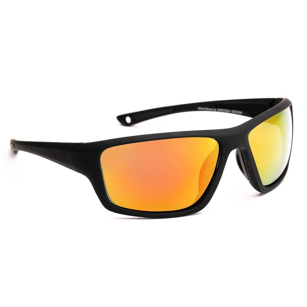 Sportovní sluneční brýle Granite Sport 24 černá s oranžovými skly