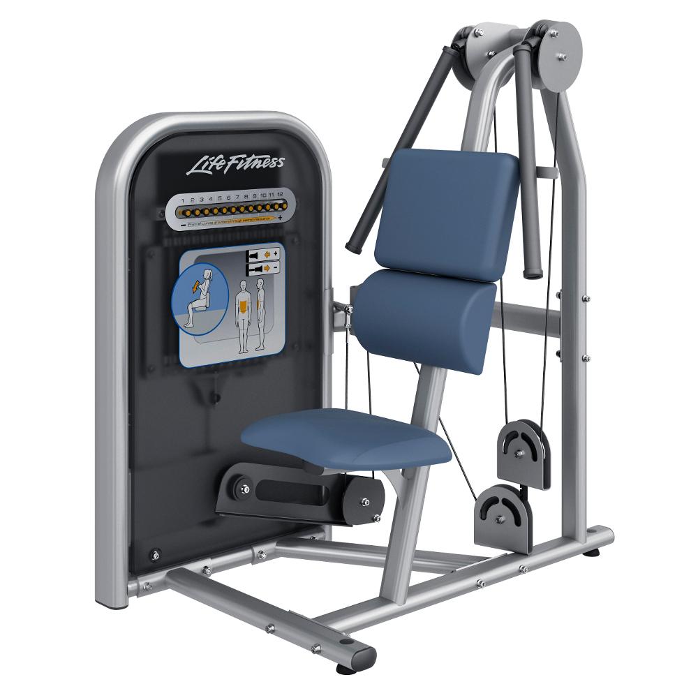 Posilovač břicha Life Fitness Circuit Abdominal Crunch - Montáž zdarma + Servis u zákazníka