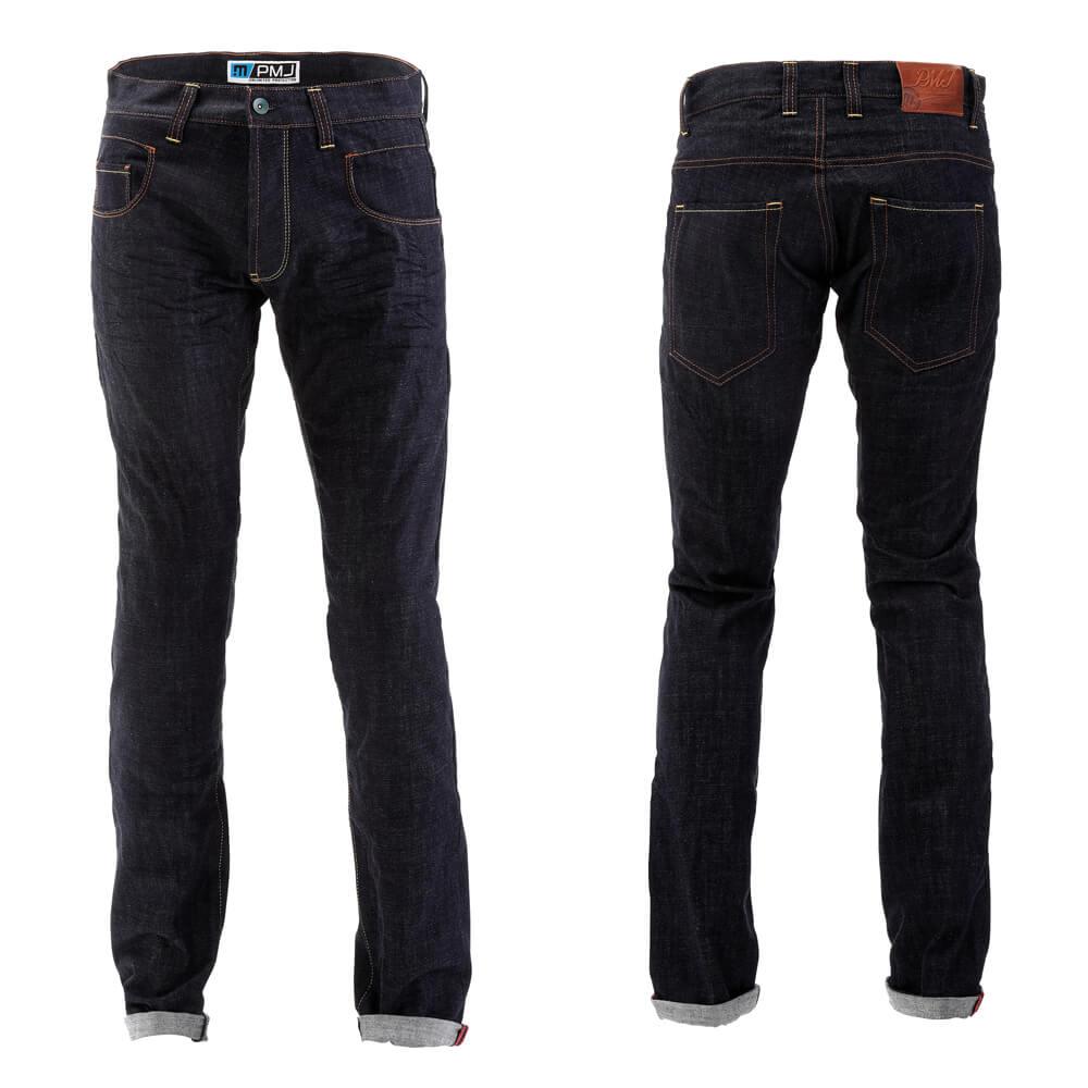 Pánské moto jeansy PMJ City modrá - 40