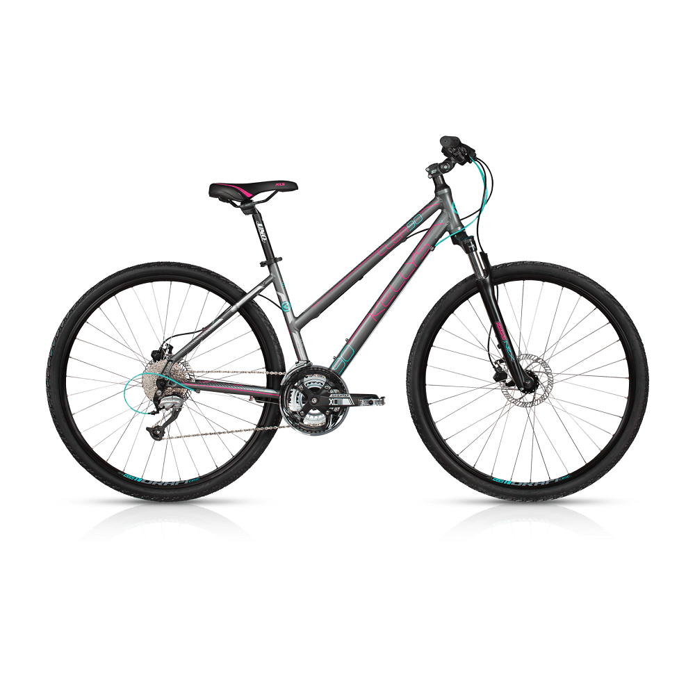 Kellys CLEA 90 28  model 2017 Grey  430 mm 17