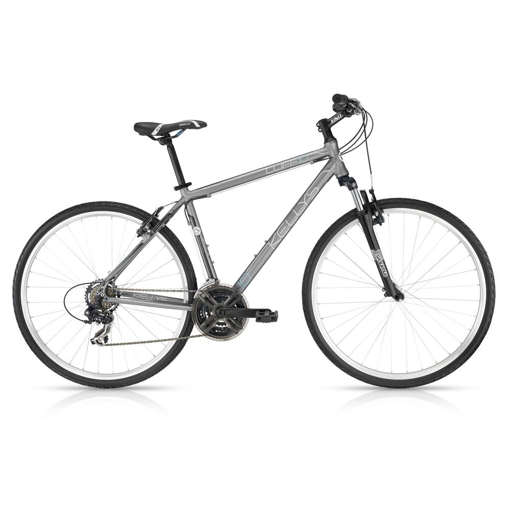 """Pánské crossové kolo KELLYS CLIFF 10 Grey 28"""" - model 2016 480 mm (19"""") - Záruka 5 let"""