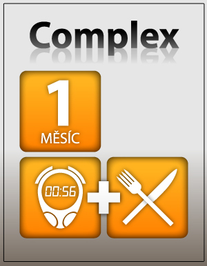 Můj inSPORTline tréninkový a výživový plán COMPLEX