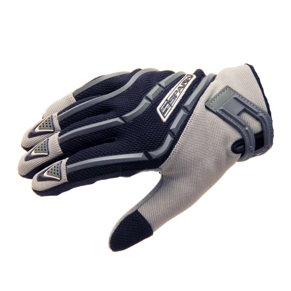 Motokrosové rukavice Spark Cross Textil šedá - 2XS
