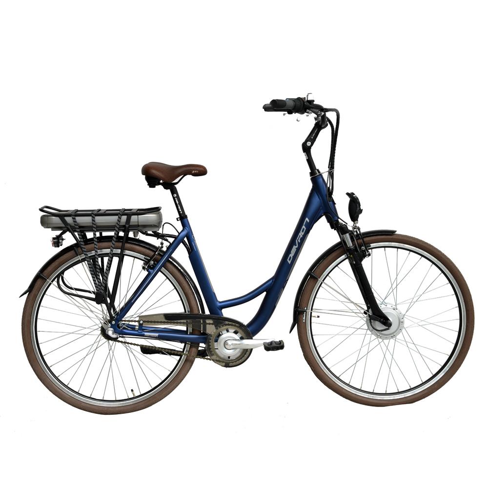 "Městské elektrokolo Devron 28120 - model 2015 Metallic Blue - 19,5"" - Servis u zákazníka + Záruka 5 let"