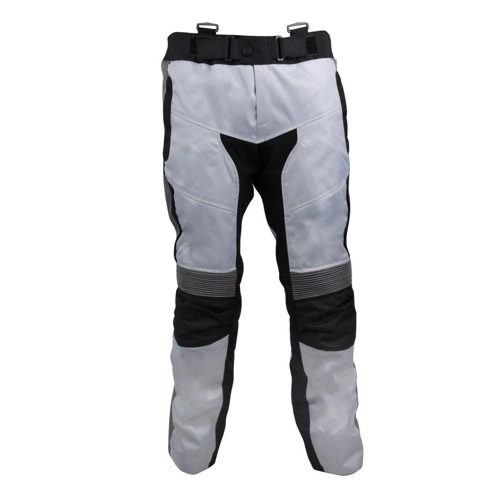 Moto kalhoty W-TEC Avontur bílo-černá - M