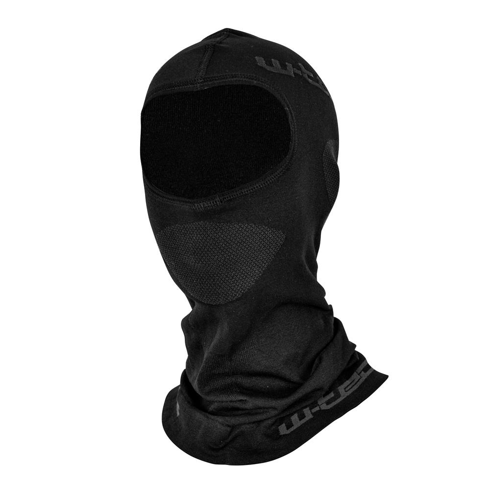 12218714722 Víceúčelová ochranná kukla W-TEC Raper černá - XS S (53-56